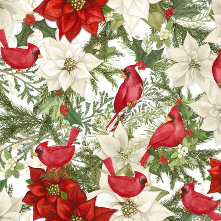 Christmas Cardinal Birds RN124655