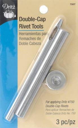 Double-Cap Rivet Tools Nickel