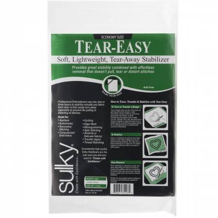 Tear Easy Tear-Away Stablizer White 20in x 3yds