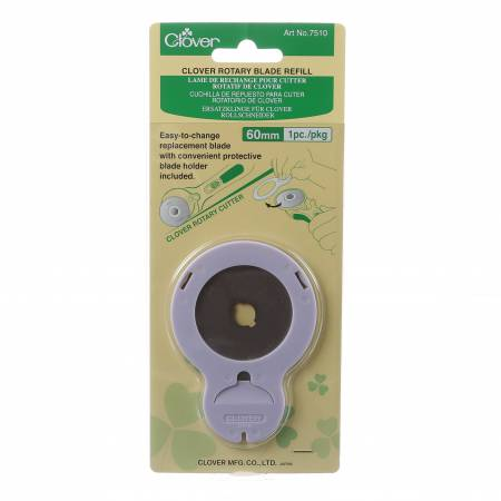 Clover 60mm Rotary Blade Refill - 1ct