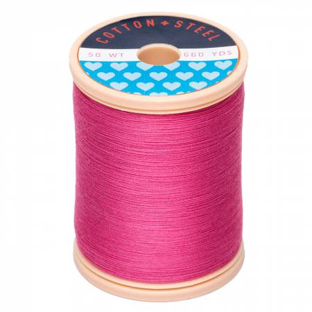 Thread Cotton & Steel 50wt Cotton Hot Pink