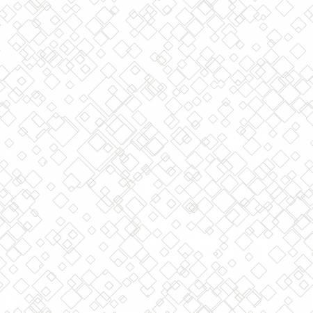 White Tonal Squares- by Benartex