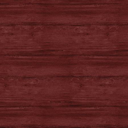 Washed Wood Flannel -  108in  - Claret