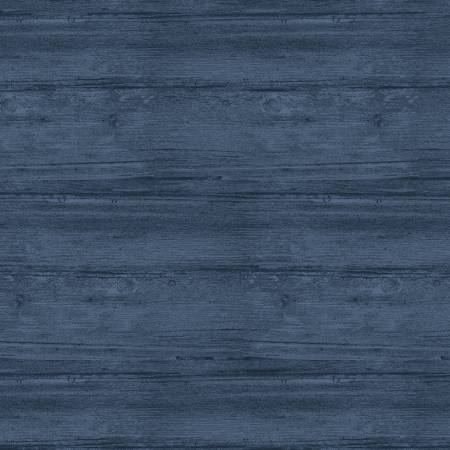 Harbour Blue Washed Wood Flannel 108in Wide Back