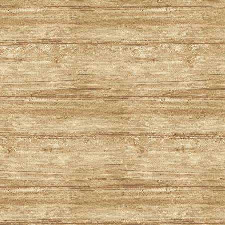 Benartex Washed Wood Flannel 7709WF-70 Natural 108in Wide Back