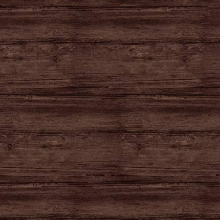 108in Espresso 7709WF-72 Washed Wood Flannel Wide Back