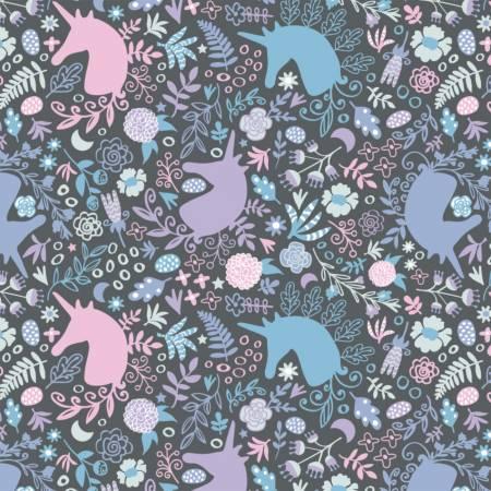 Charcoal Unicorn Magic Cotton
