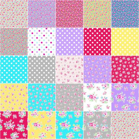 Lecien - Flower Sugar - Symbol of Love - Fat Quarter Bundle - 29pc