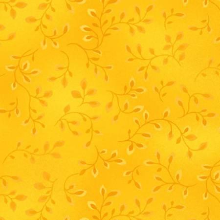 Folio Basics Yellow Vines 7755-34 by Color Principle