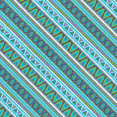Grey/Teal Diagonal Stripe