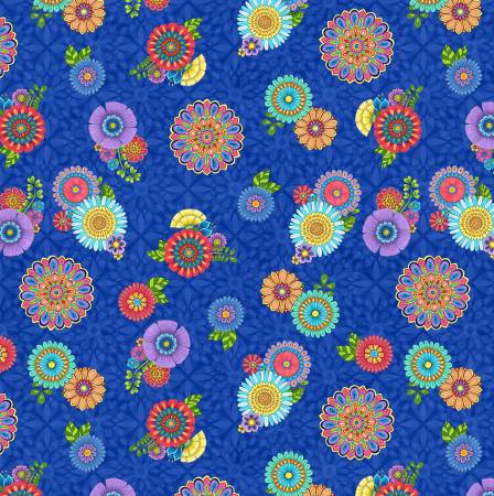 Safari So Goodie - Floral on Blue