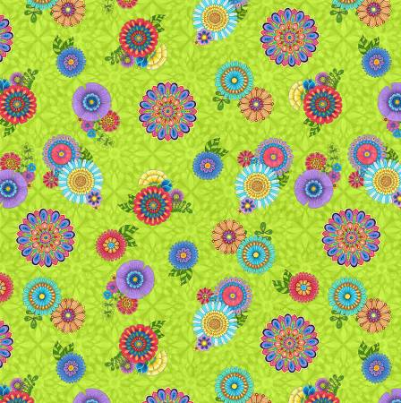 Safari So Goodie - Floral on Green