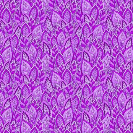 Rainbow Flight -- 77645-660 Purple Leaves