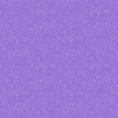 Medium Purple Doodles