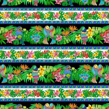 Tropical Flair Stripe