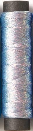 Shabon-Dama Thread 6 Strand 21.9yds 6 Spools Silver