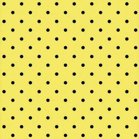 Yellow Lemon Drop Dots