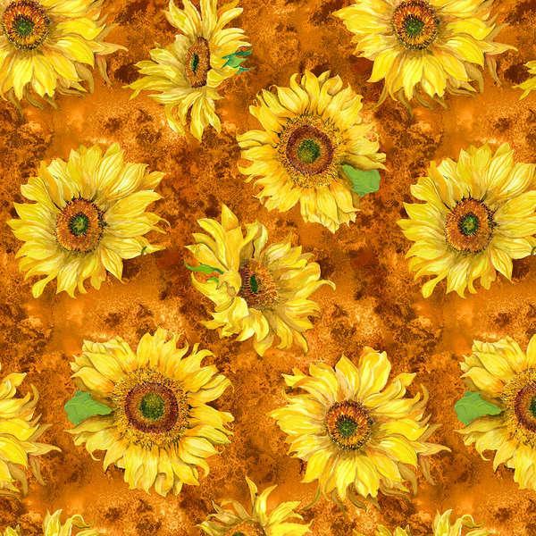 Orange Large Sunflowers