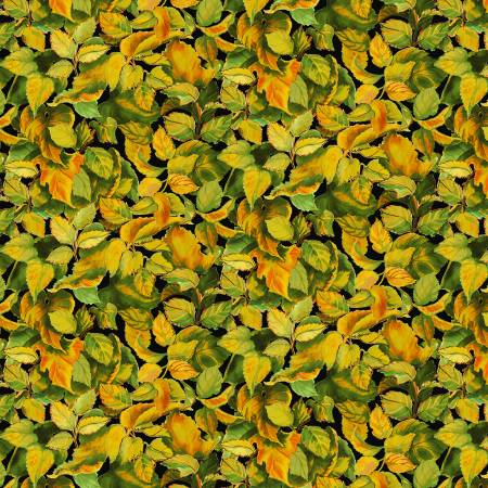 Packed Leaves Yellow