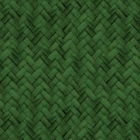 Basketweave Green