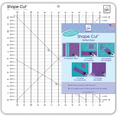 Shape Cut for Strips/Block Template
