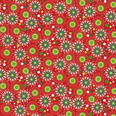 Kanvas Studios - Camp Joy - Joyful Geo - 07978 10 - Red