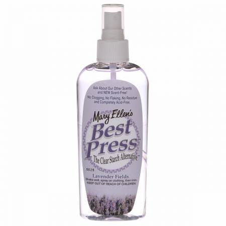 Best Press Spray Starch Lavender Fields 6oz