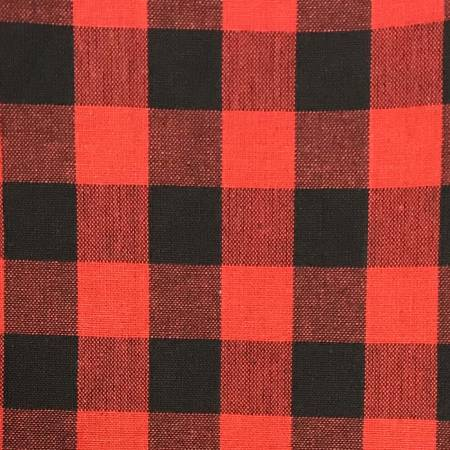 Tea Towel Buffalo Check Red/Black