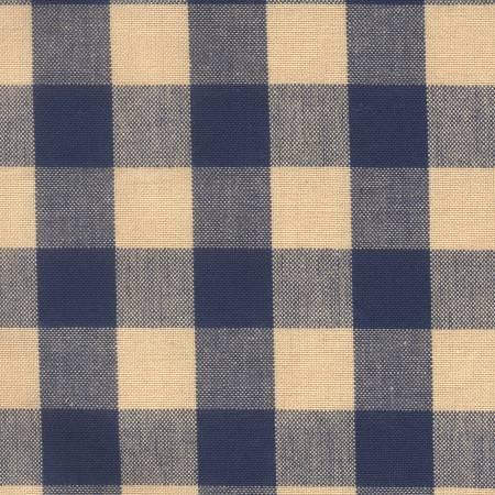 Tea Towel Buffalo Check Navy/Teadye