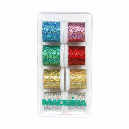 Thread Set Madeira Jewel Holographic 8ct