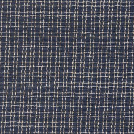 Tea Towel Reverse Double - Pane Navy/Teadye