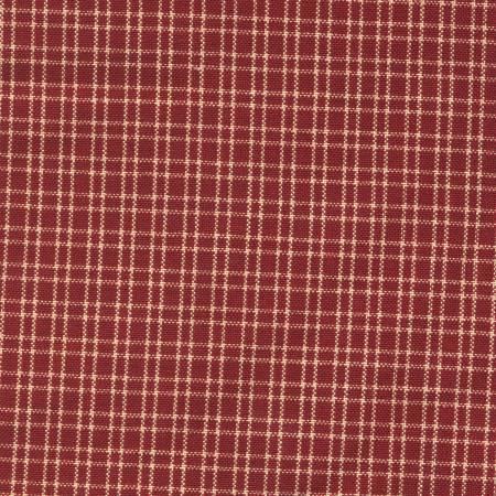 Tea Towel Reverse Double Pane Red