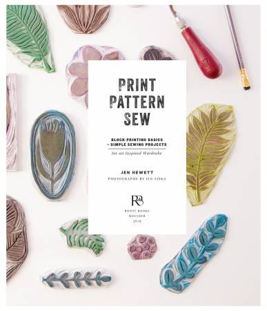 Book Print, Pattern, Sew