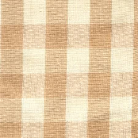 Tea Towel Buffalo Check Wheat/Cream