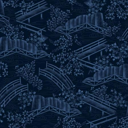 Indigo Japanese Toile MAY120117