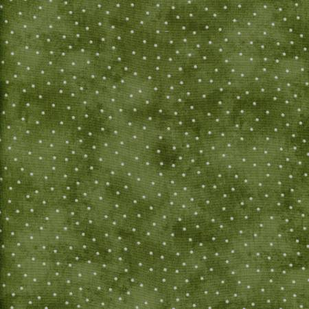 Beautiful Basics 8119-GE Grass Green Scattered Dots