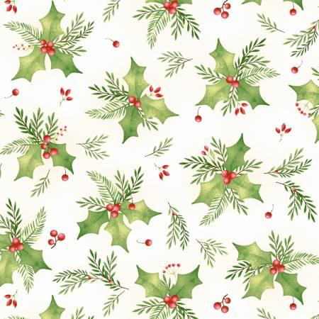 Songbird Christmas Holly White