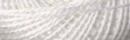 Finca Pearl Cotton Sz 8 2-ply 10gm Soft White