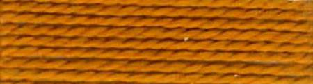 Finca Perle Cotton Sz 8 2-ply 10gm Dark Golden Brown