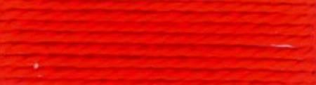 Finca Perle Cotton Sz 8 2-ply 10gm Bright Orange-Red
