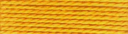 Finca Perle Cotton - Med Golden BROWN (Sz 12 10gm) 2-ply Egyptian Pearl Cotton
