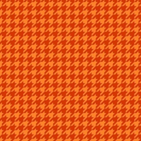 Pumpkin Houndstooth