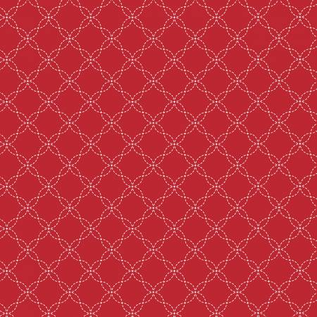 KIMBERBELL BASICS LATTICE RED