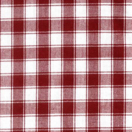Tea Towel House Check Red/White