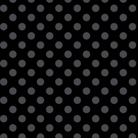 Kimberbell Basics MAS8216-JK Black/Grey Dots