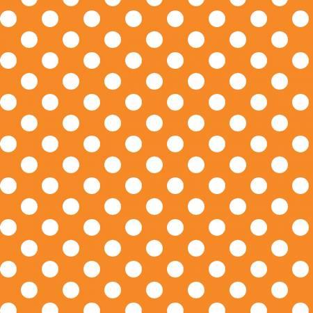 Kimberbell Basics - Dots - Orange