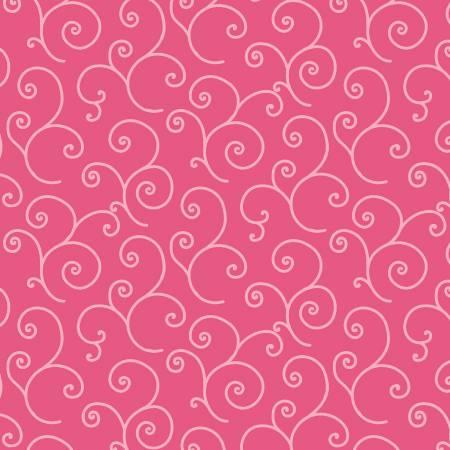 Kimberbell Basics Pink Scroll Fabric