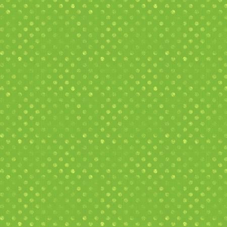 Lime Green Dotsy