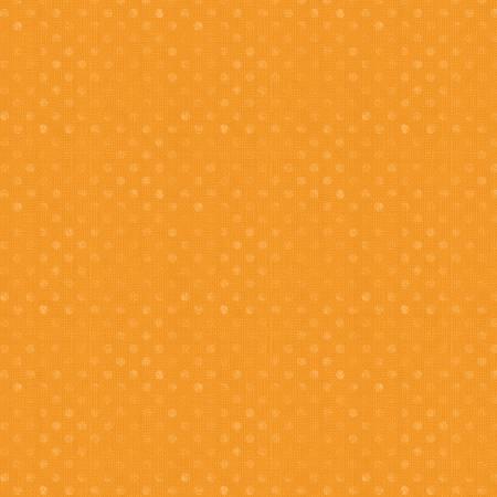 Wilmington Prints Essentials Orange Dotsy 82455-885