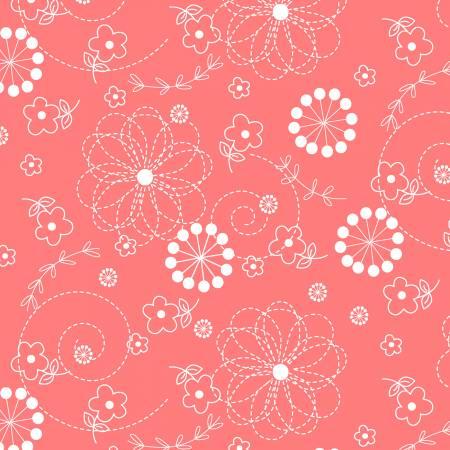 Kimberbell Peachy Pink Doodles